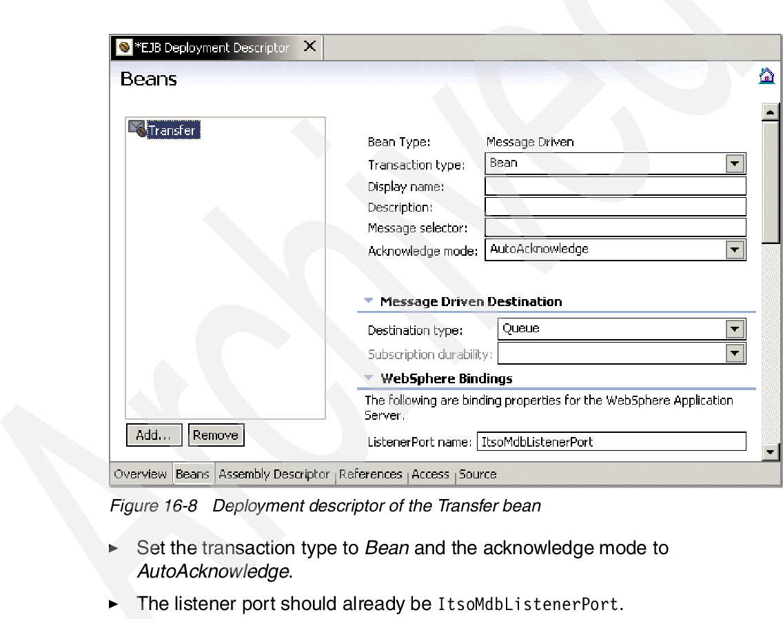 Figure 16-8 from Ejb 2 0 Development With Websphere Studio