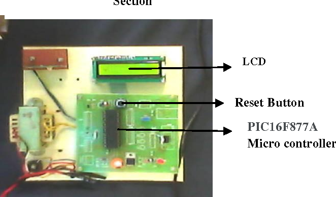 Figure 8 from Stop Line 1 Stop Line 2 PIC 16 F 877 A LCD 16