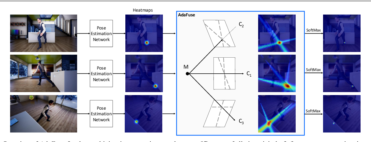 Figure 3 for AdaFuse: Adaptive Multiview Fusion for Accurate Human Pose Estimation in the Wild