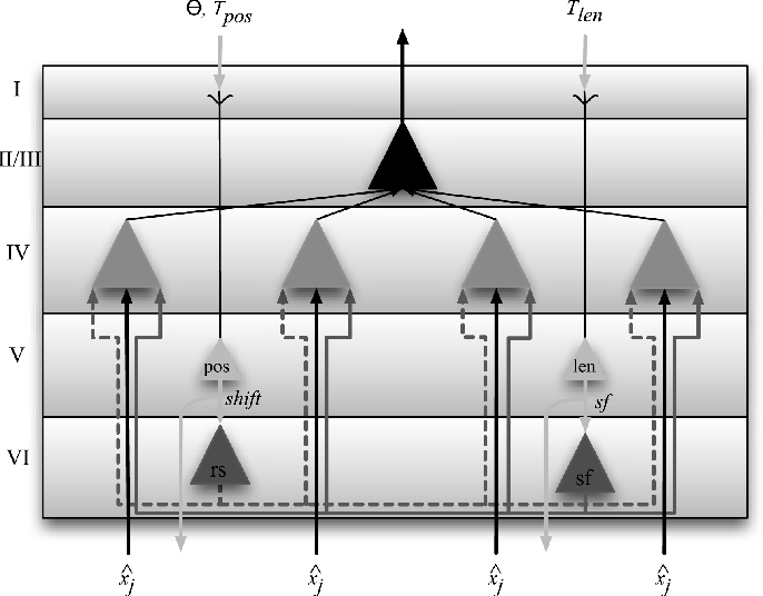 Figure 1 for Response of Selective Attention in Middle Temporal Area