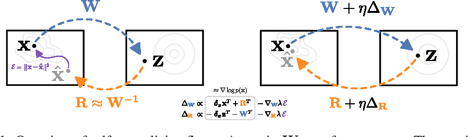 Figure 1 for Self Normalizing Flows