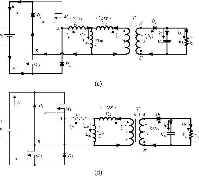 Circuit component parameters design for dual-switch flyback ...