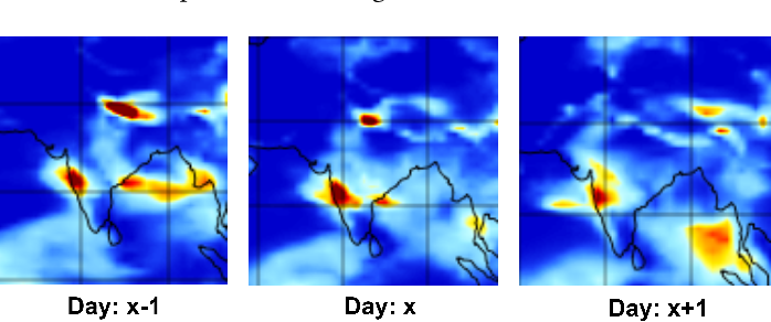 Figure 1 for Augmented Convolutional LSTMs for Generation of High-Resolution Climate Change Projections
