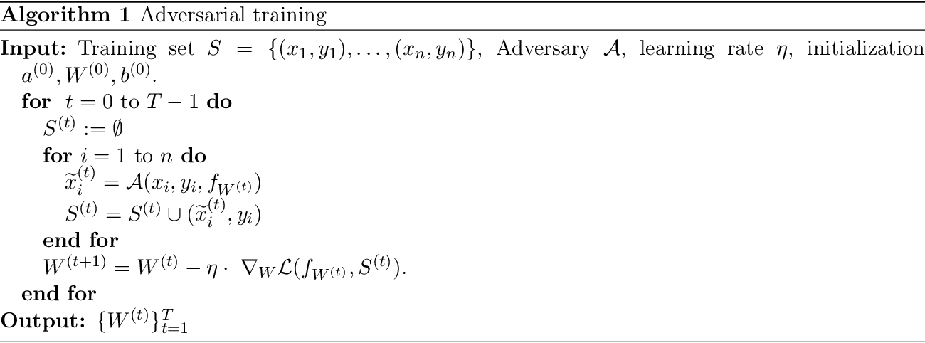 Figure 1 for Over-parameterized Adversarial Training: An Analysis Overcoming the Curse of Dimensionality