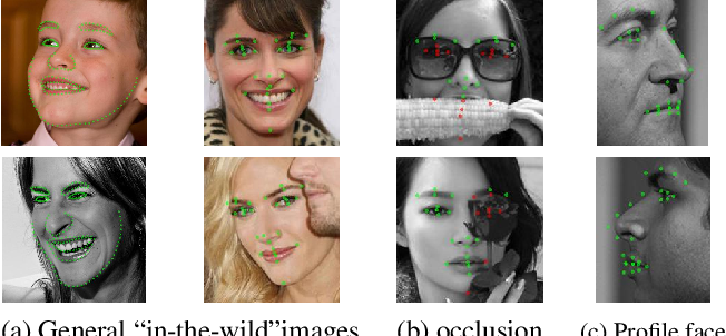 Figure 1 for Robust Facial Landmark Detection under Significant Head Poses and Occlusion