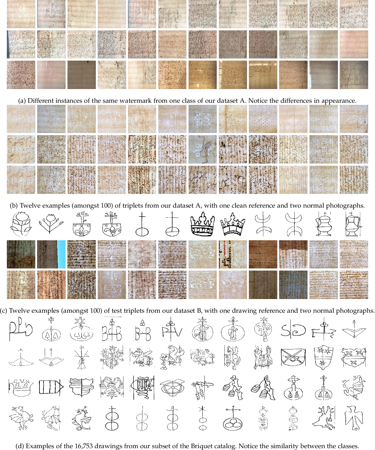 Figure 3 for Large-Scale Historical Watermark Recognition: dataset and a new consistency-based approach