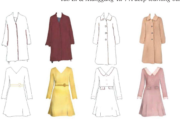 Figure 4 for A deep learning based interactive sketching system for fashion images design