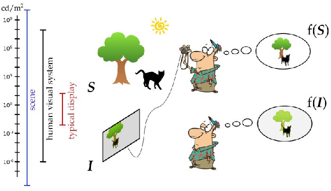 Figure 1 for Perceptually Optimized Image Rendering