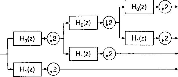Fig. 2. Wavelet decomposition.