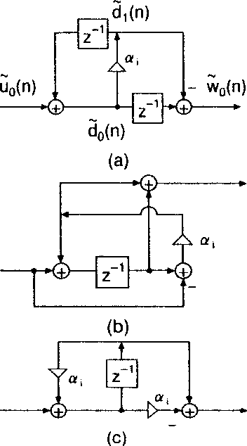 Fig. 8. Structure of first-order all-pass filters.