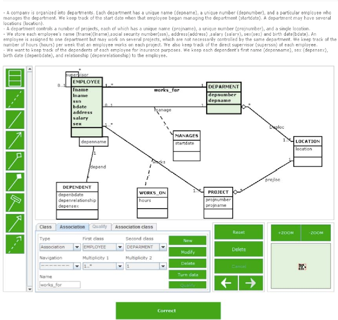 A web based e learning tool for uml class diagrams semantic scholar figure 6 pooptronica