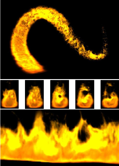 Figure 3 from Real-time procedural volumetric fire - Semantic Scholar