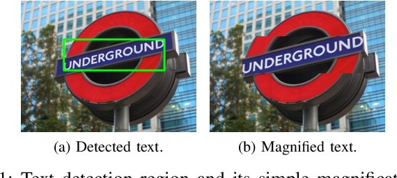 Figure 1 for Scene Text Magnifier