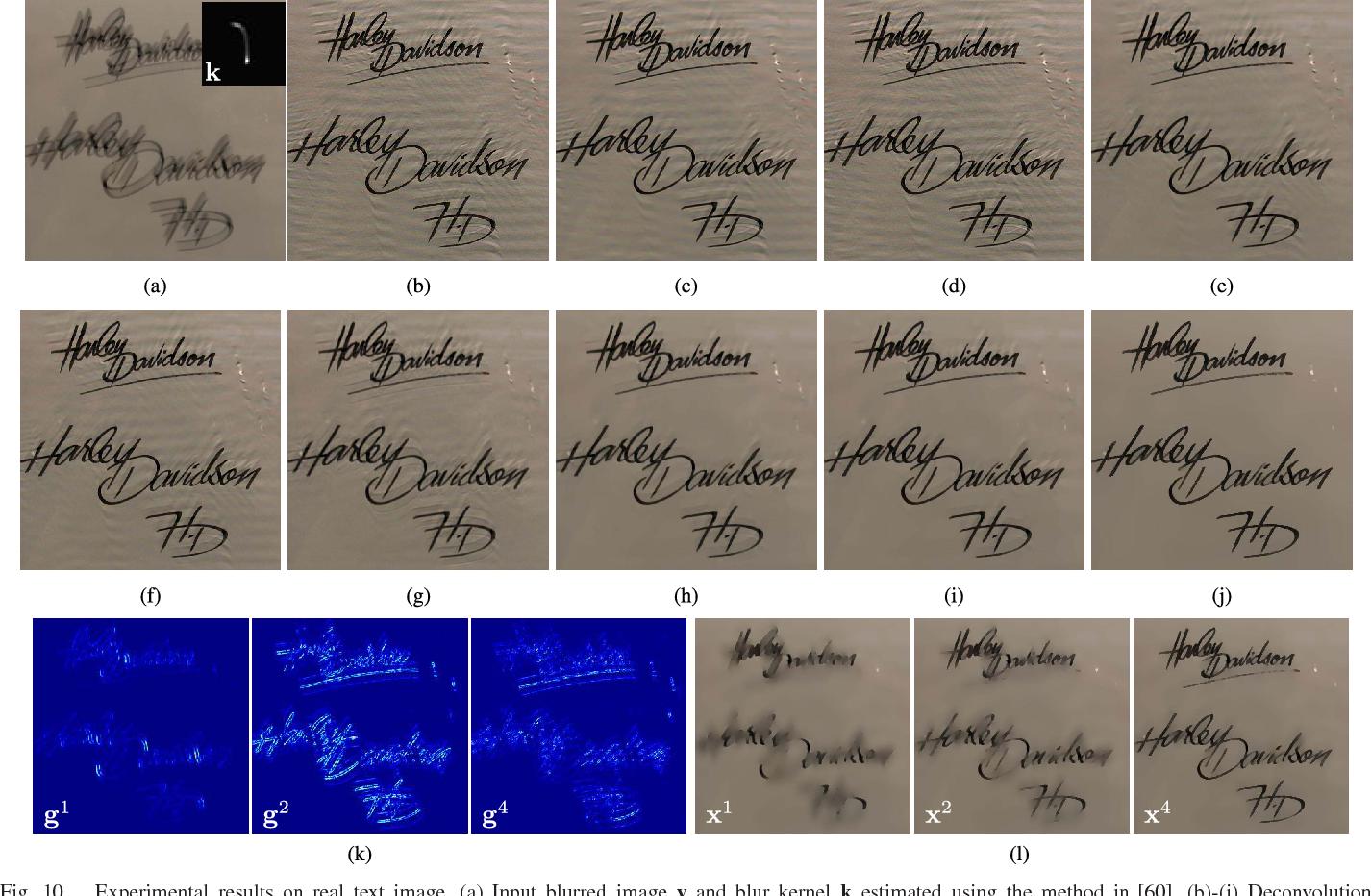 Figure 2 for MPTV: Matching Pursuit Based Total Variation Minimization for Image Deconvolution
