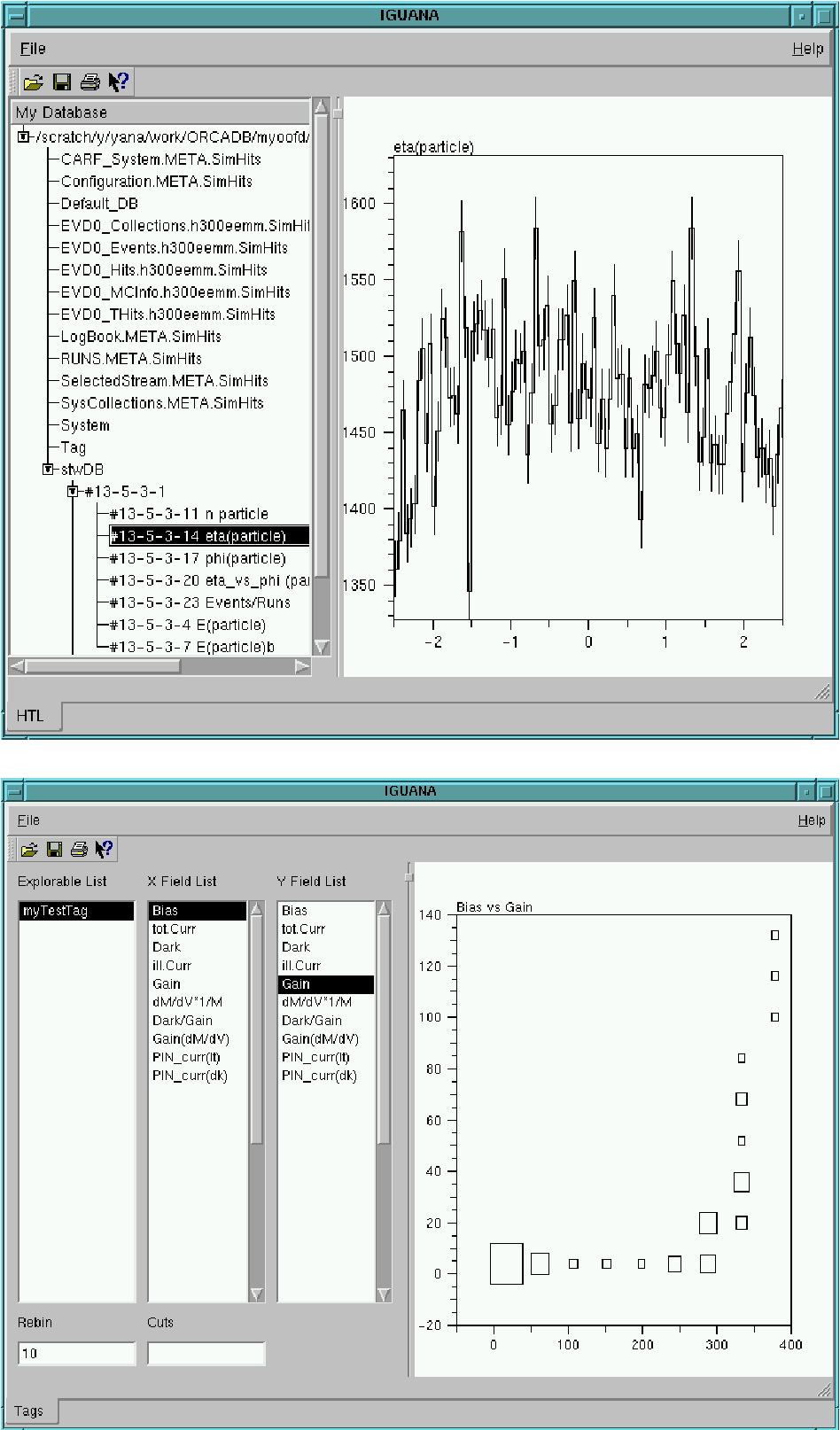 Figure 2 11 from The CMS Interactive Graphical User Analysis