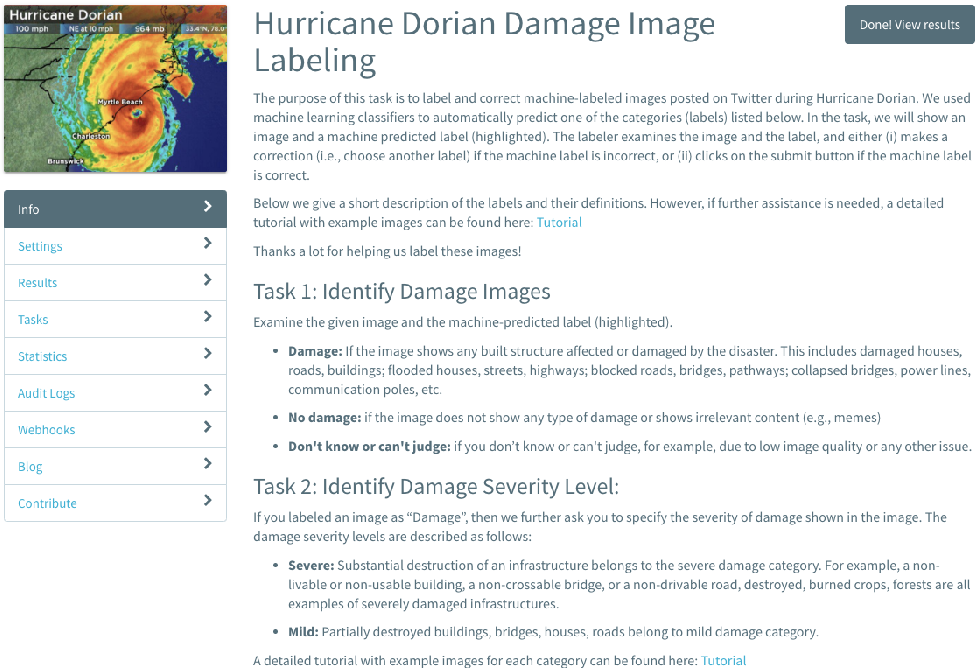 Figure 2 for Rapid Damage Assessment Using Social Media Images by Combining Human and Machine Intelligence