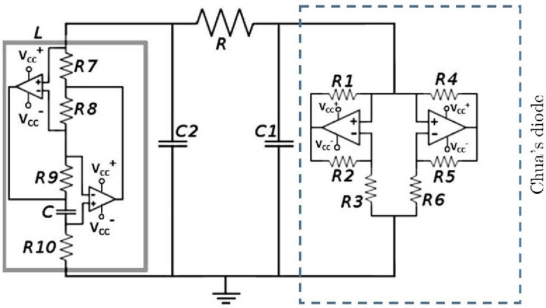 Figure 2 from Chua's circuit for experimenters using readily