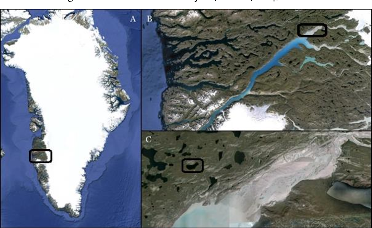 Tracing The Source Of Colourless Carbon In An Arctic Lake On SW - Colourless world map
