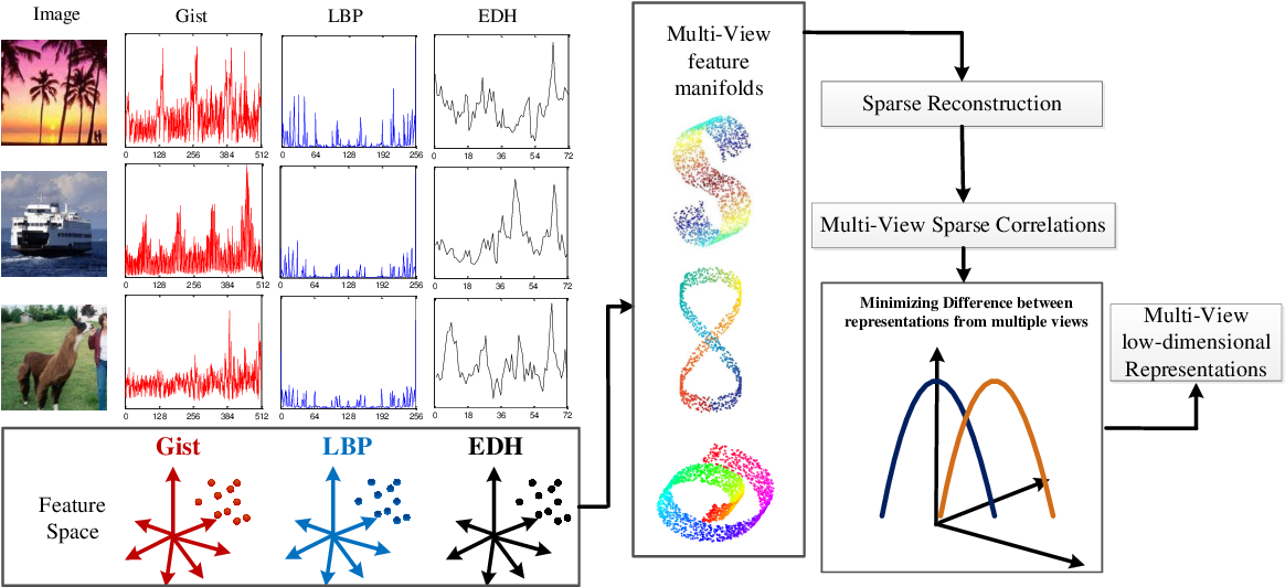 Figure 1 for Co-regularized Multi-view Sparse Reconstruction Embedding for Dimension Reduction