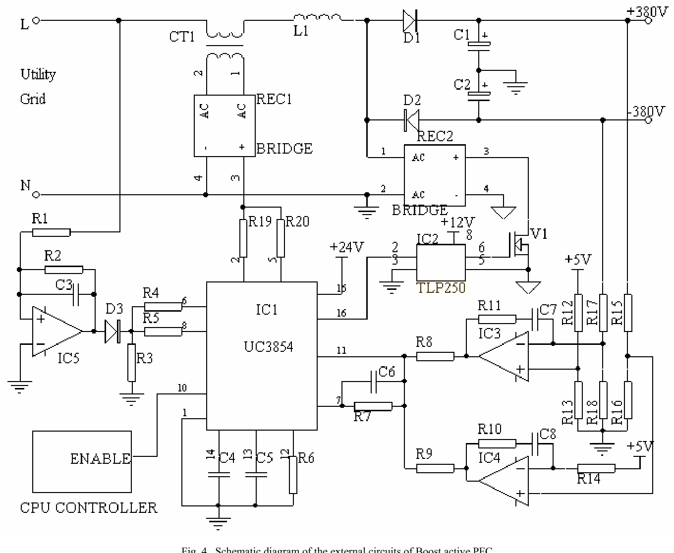 Schematic Diagram Ups Ica Experience Of Wiring H Bridge Circuit Design An Active Power Factor Converter For With Backup Rh Semanticscholar Org