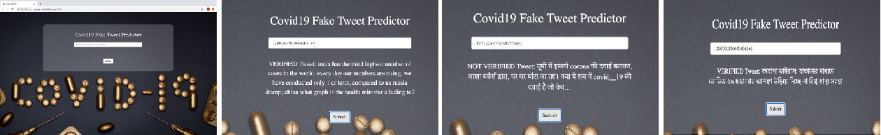 Figure 4 for No Rumours Please! A Multi-Indic-Lingual Approach for COVID Fake-Tweet Detection