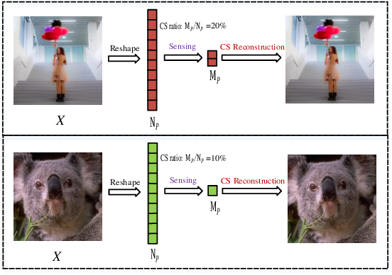 Figure 1 for AMPA-Net: Optimization-Inspired Attention Neural Network for Deep Compressed Sensing