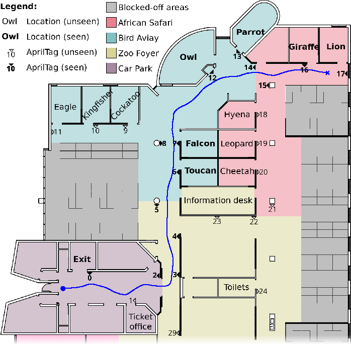 Figure 4 for Robot Navigation in Unseen Spaces using an Abstract Map