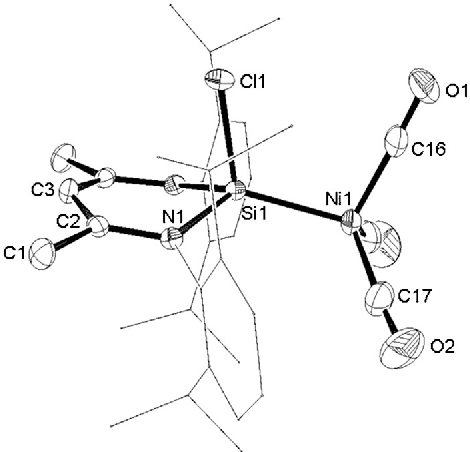 Figure 1 From Hydrosilylation Of Alkynes By Nico3 Stabilized