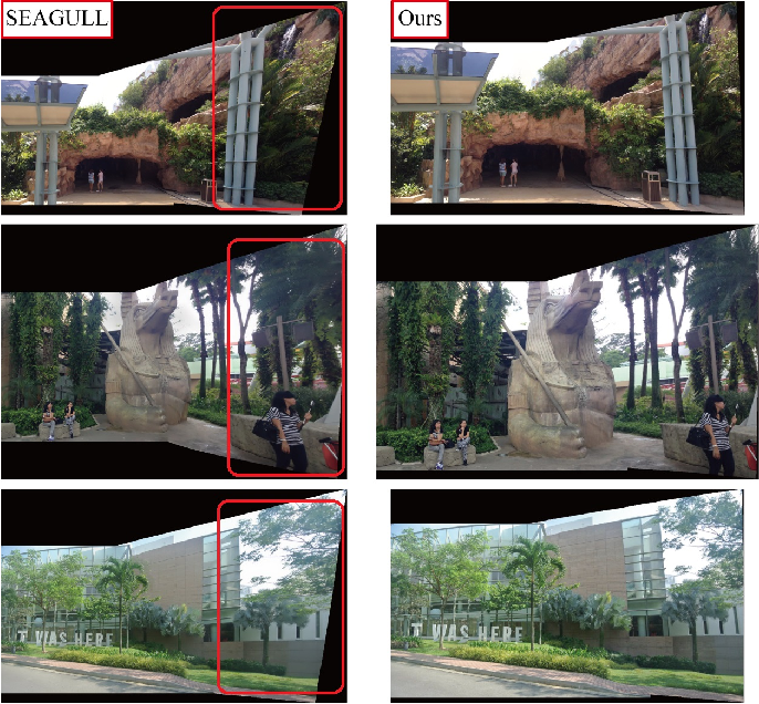 Figure 3 for Graph-based Hypothesis Generation for Parallax-tolerant Image Stitching