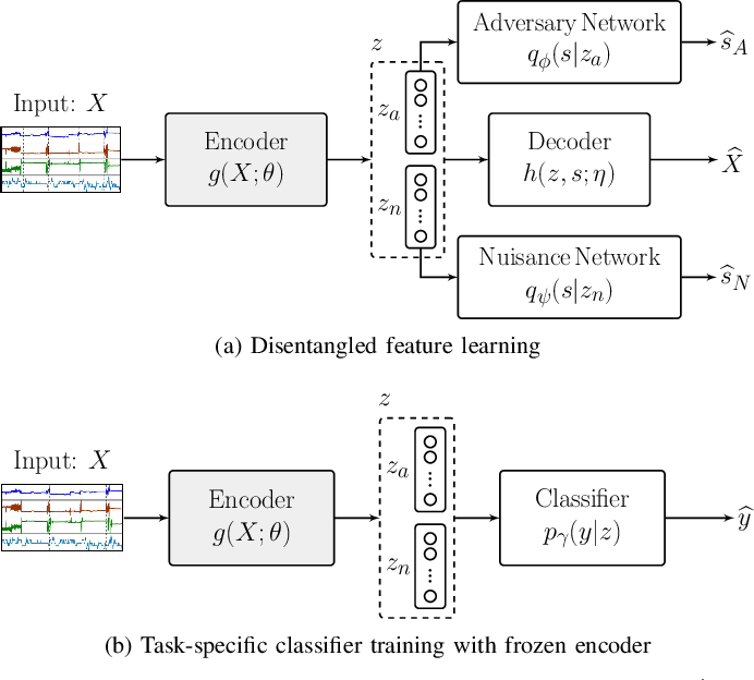 Figure 1 for Disentangled Adversarial Autoencoder for Subject-Invariant Physiological Feature Extraction