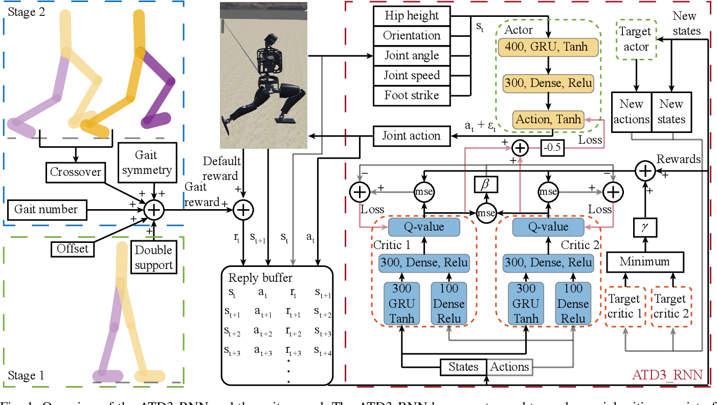 Figure 1 for Teach Biped Robots to Walk via Gait Principles and Reinforcement Learning with Adversarial Critics