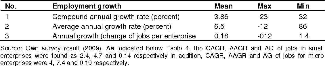 PDF] Employment growth and challenges in small and micro