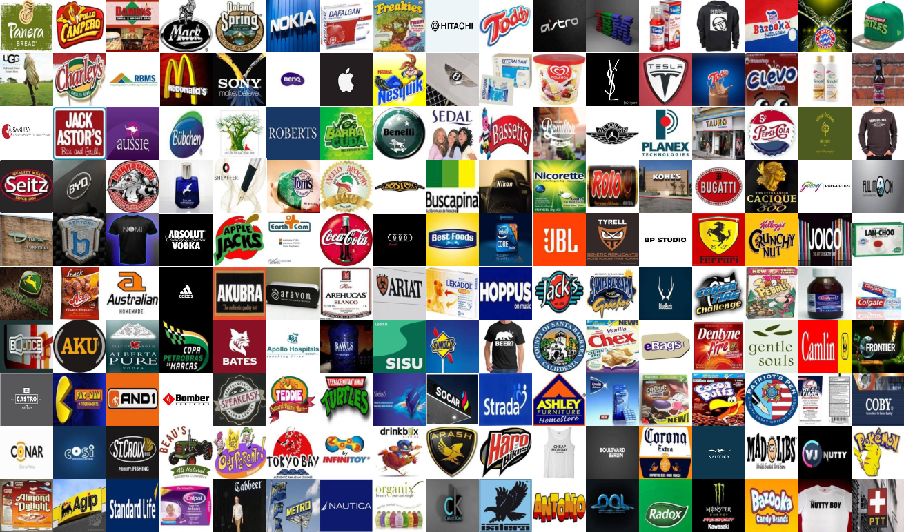 Figure 1 for Logo-2K+: A Large-Scale Logo Dataset for Scalable Logo Classification