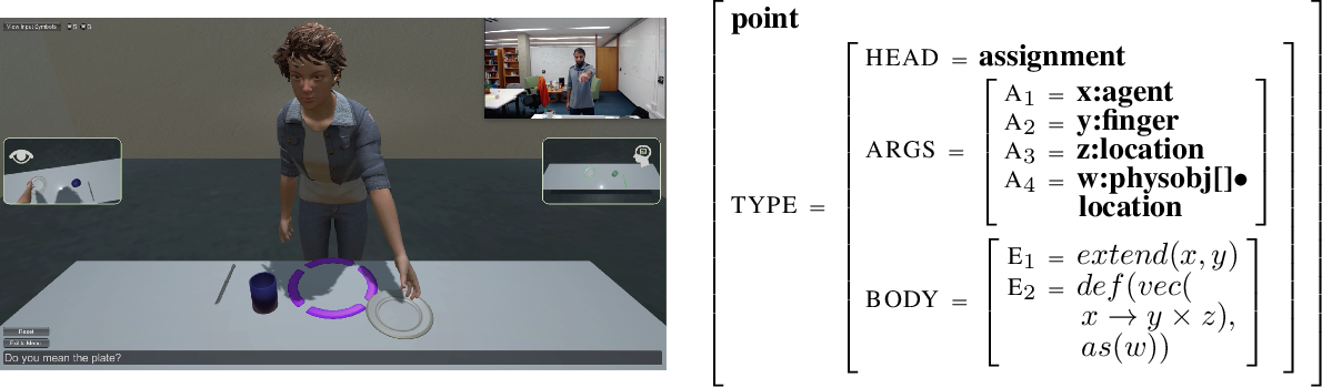 Figure 1 for Multimodal Continuation-style Architectures for Human-Robot Interaction