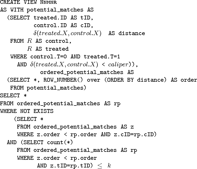 Figure 4 for ZaliQL: A SQL-Based Framework for Drawing Causal Inference from Big Data