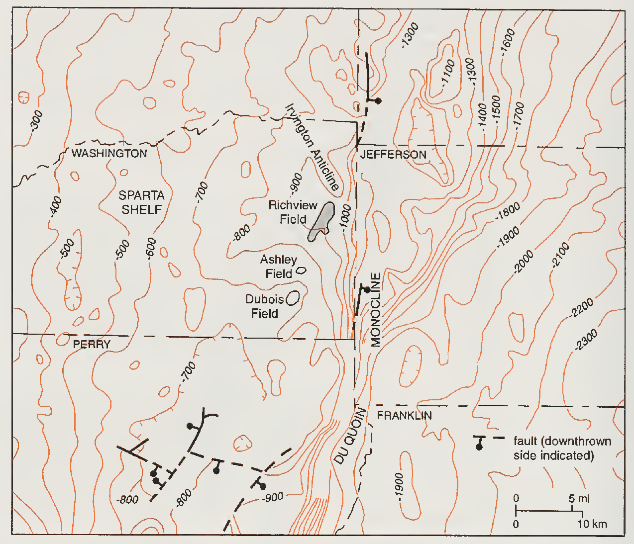 Bristol Illinois Map.Figure 4 From Reservoir Characterization And Its Application To