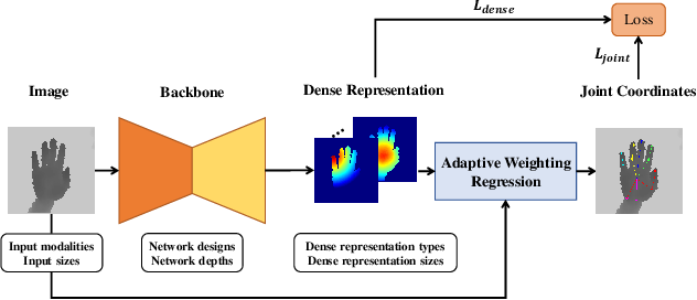 Figure 3 for AWR: Adaptive Weighting Regression for 3D Hand Pose Estimation