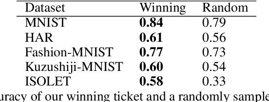Figure 4 for The Differentially Private Lottery Ticket Mechanism
