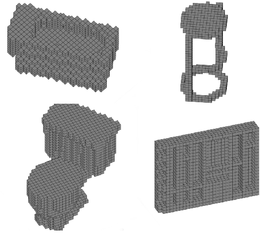 Figure 1 for FusionNet: 3D Object Classification Using Multiple Data Representations
