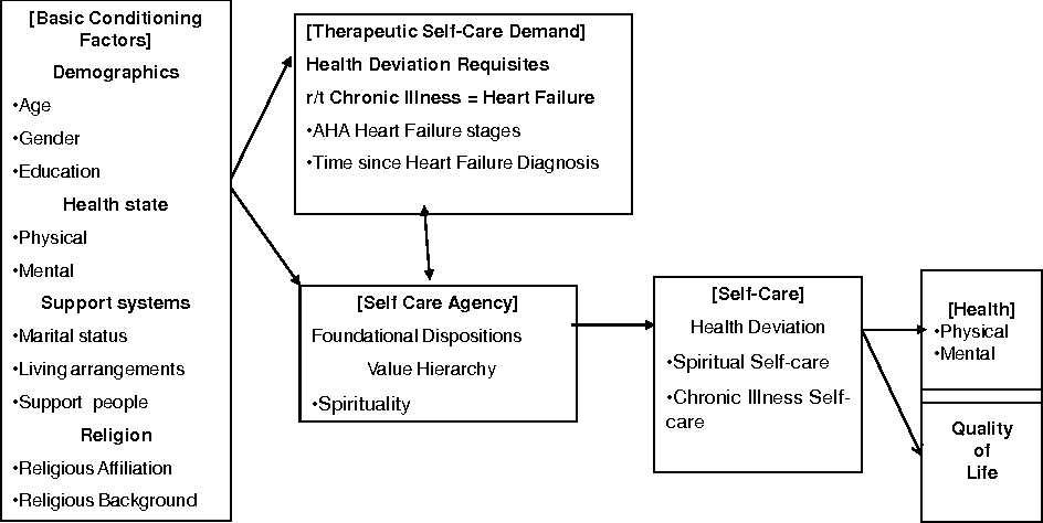 therapeutic self care demand