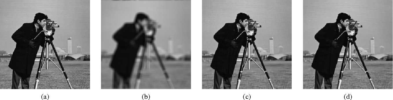 Figure 1 for Image Restoration and Reconstruction using Variable Splitting and Class-adapted Image Priors