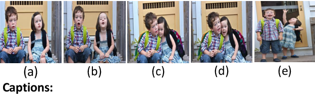 Figure 1 for No Metrics Are Perfect: Adversarial Reward Learning for Visual Storytelling