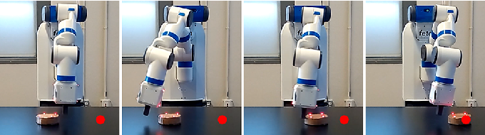 Figure 1 for Sim-to-Real Transfer of Robotic Control with Dynamics Randomization