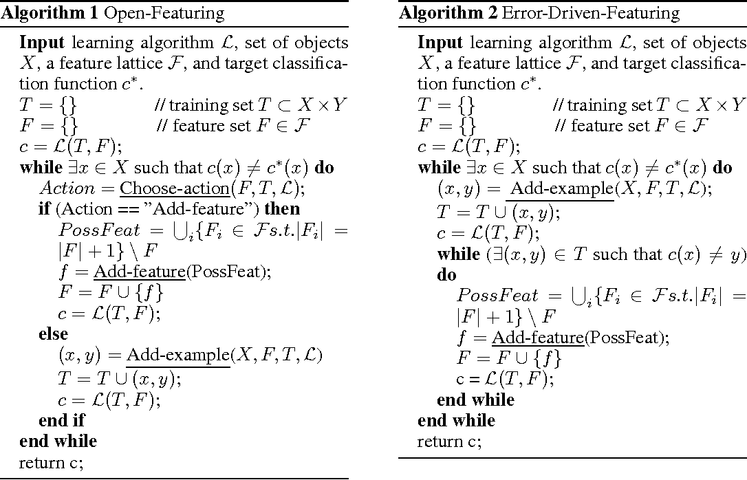 Figure 3 for Analysis of a Design Pattern for Teaching with Features and Labels