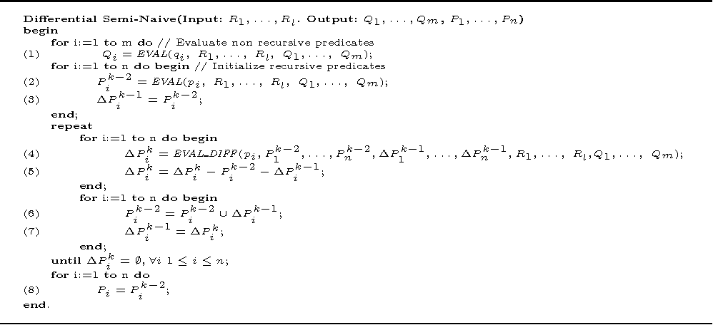 Figure 3 for Experimenting with recursive queries in database and logic programming systems