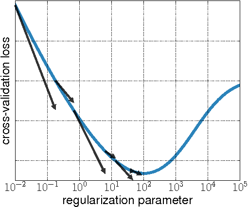 Figure 1 for Hyperparameter optimization with approximate gradient