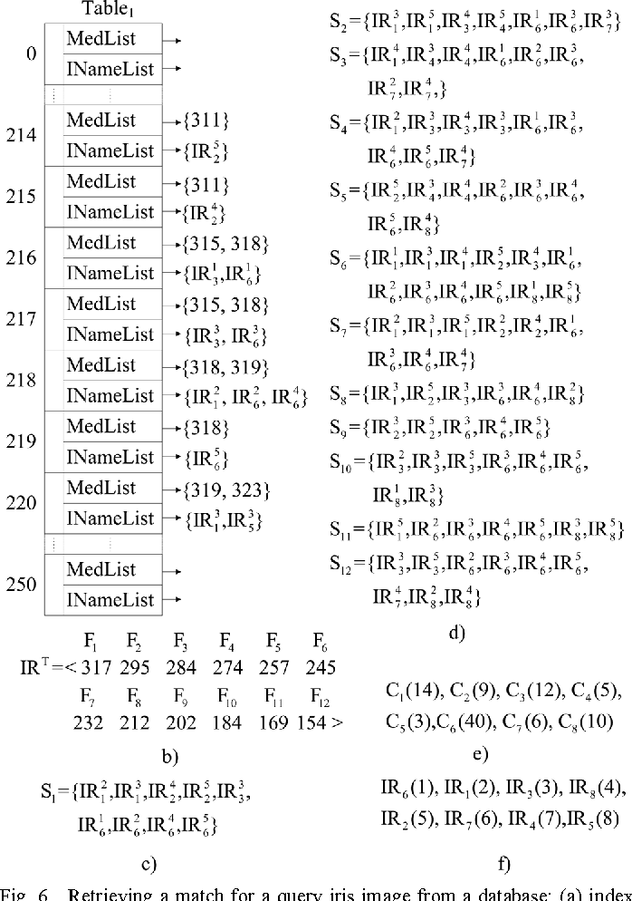 Figure 6 from Iris Data Indexing Method Using Gabor Energy