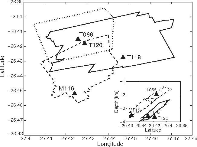 Figure 1 from Broadband Records of Earthquakes in Deep Gold