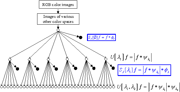 Figure 2 for Performance evaluation of wavelet scattering network in image texture classification in various color spaces