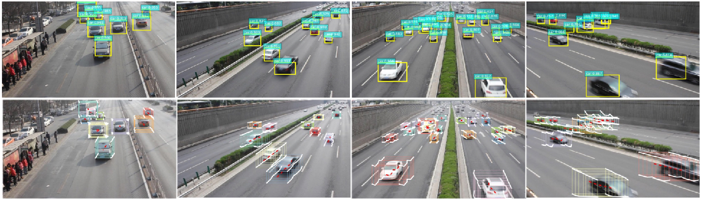Figure 1 for TrackNet: Simultaneous Object Detection and Tracking and Its Application in Traffic Video Analysis